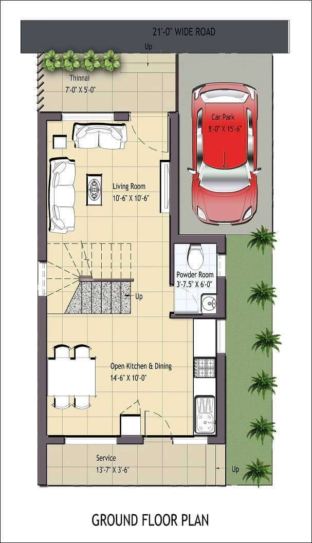 independent house in chennai ecr