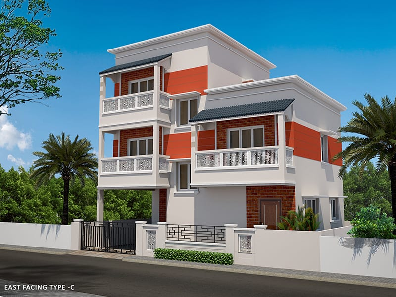 Kelambakkam independent villas for sale